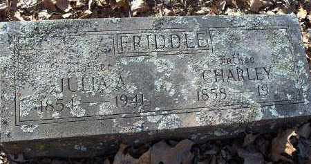 FRIDDLE, JULIA A - Crawford County, Arkansas | JULIA A FRIDDLE - Arkansas Gravestone Photos