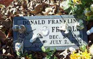 FRIDDLE, DONALD FRANKLIN - Crawford County, Arkansas | DONALD FRANKLIN FRIDDLE - Arkansas Gravestone Photos