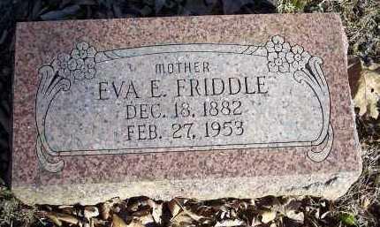 FRIDDLE, EVA E. - Crawford County, Arkansas | EVA E. FRIDDLE - Arkansas Gravestone Photos