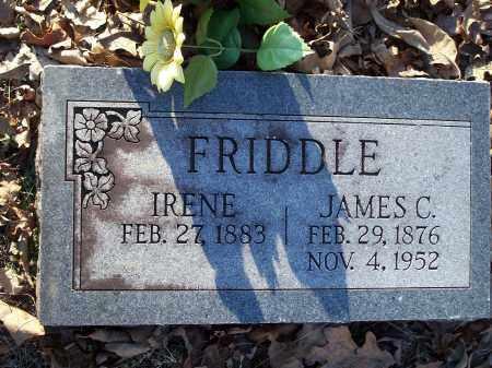 FRIDDLE, IRENE - Crawford County, Arkansas | IRENE FRIDDLE - Arkansas Gravestone Photos