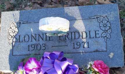 FRIDDLE, LONNIE - Crawford County, Arkansas   LONNIE FRIDDLE - Arkansas Gravestone Photos
