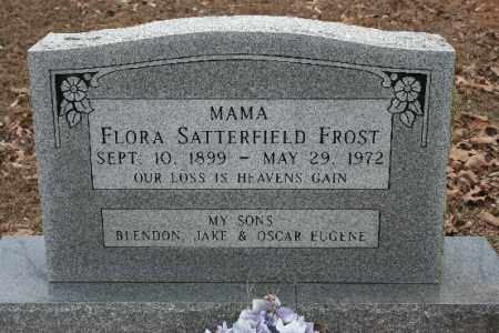 FROST, FLORA - Crawford County, Arkansas | FLORA FROST - Arkansas Gravestone Photos