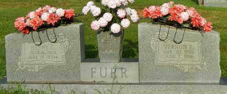 FURR, VERNON ELIZABETH - Crawford County, Arkansas   VERNON ELIZABETH FURR - Arkansas Gravestone Photos