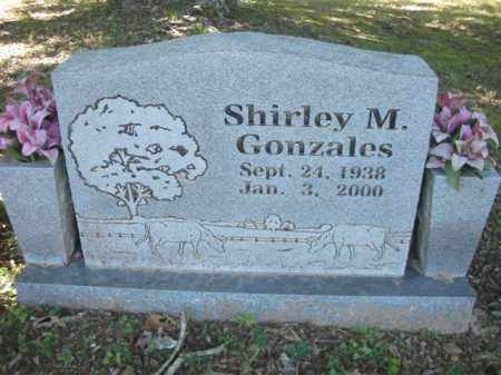 GONZALES, SHIRLEY M. - Crawford County, Arkansas   SHIRLEY M. GONZALES - Arkansas Gravestone Photos
