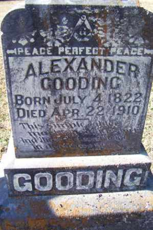 GOODING, ALEXANDER - Crawford County, Arkansas | ALEXANDER GOODING - Arkansas Gravestone Photos