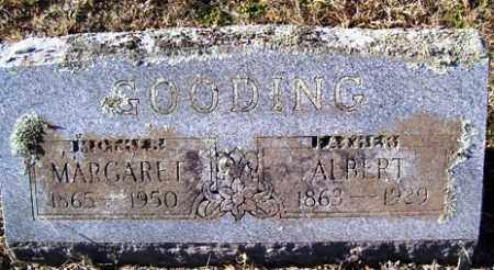 GOODING, ALBERT - Crawford County, Arkansas | ALBERT GOODING - Arkansas Gravestone Photos