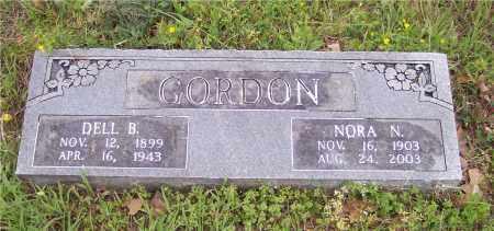 GORDON, DELL B - Crawford County, Arkansas | DELL B GORDON - Arkansas Gravestone Photos
