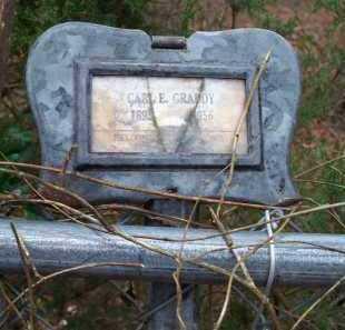 GRADDY, CARL E - Crawford County, Arkansas   CARL E GRADDY - Arkansas Gravestone Photos