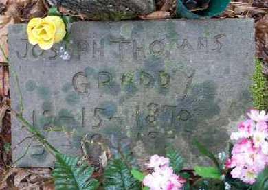 GRADDY, JOSEPH THOMAS - Crawford County, Arkansas   JOSEPH THOMAS GRADDY - Arkansas Gravestone Photos