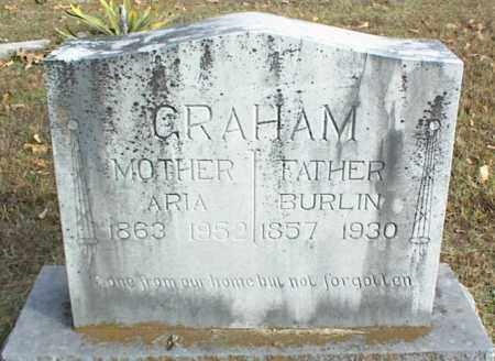 GRAHAM, ARIA - Crawford County, Arkansas | ARIA GRAHAM - Arkansas Gravestone Photos