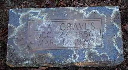 GRAVES, J A - Crawford County, Arkansas   J A GRAVES - Arkansas Gravestone Photos