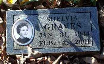 GRAVES, SHELVIA - Crawford County, Arkansas | SHELVIA GRAVES - Arkansas Gravestone Photos