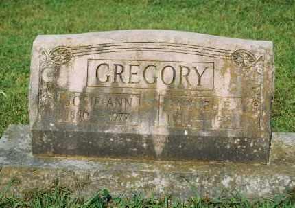 DOSS GREGORY, JOSIE ANN - Crawford County, Arkansas | JOSIE ANN DOSS GREGORY - Arkansas Gravestone Photos