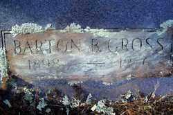GROSS, BARTON B - Crawford County, Arkansas   BARTON B GROSS - Arkansas Gravestone Photos