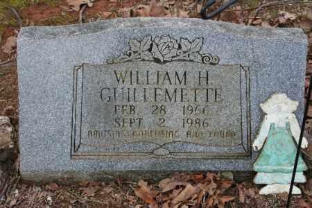 GUILLEMETTE, WILLIAM - Crawford County, Arkansas | WILLIAM GUILLEMETTE - Arkansas Gravestone Photos