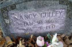 GULLEY, NANCY - Crawford County, Arkansas | NANCY GULLEY - Arkansas Gravestone Photos