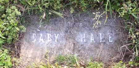 HALE, BABY - Crawford County, Arkansas   BABY HALE - Arkansas Gravestone Photos