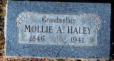 HALEY, MOLLIE A - Crawford County, Arkansas | MOLLIE A HALEY - Arkansas Gravestone Photos