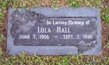 HALL, LOLA - Crawford County, Arkansas   LOLA HALL - Arkansas Gravestone Photos