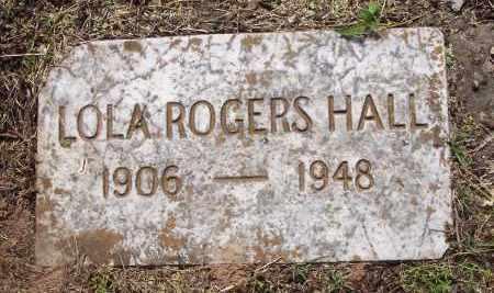 HALL, LOLA (2ND STONE) - Crawford County, Arkansas | LOLA (2ND STONE) HALL - Arkansas Gravestone Photos