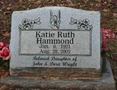 HAMMOND, KATIE - Crawford County, Arkansas | KATIE HAMMOND - Arkansas Gravestone Photos