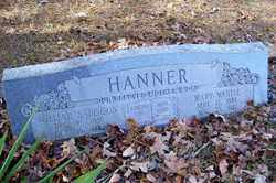 HANNER, WILLIAM ANDERSON - Crawford County, Arkansas | WILLIAM ANDERSON HANNER - Arkansas Gravestone Photos