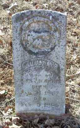 HARRIS, MOBLEY W. - Crawford County, Arkansas   MOBLEY W. HARRIS - Arkansas Gravestone Photos