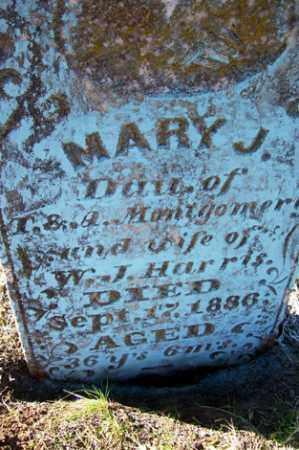 HARRIS, MARY J. - Crawford County, Arkansas | MARY J. HARRIS - Arkansas Gravestone Photos