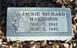 HARRISON, JACKIE RICHARD - Crawford County, Arkansas   JACKIE RICHARD HARRISON - Arkansas Gravestone Photos