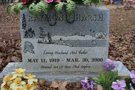 HARSH, RAYMOND - Crawford County, Arkansas | RAYMOND HARSH - Arkansas Gravestone Photos