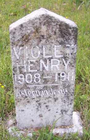 HENRY, VIOLET - Crawford County, Arkansas   VIOLET HENRY - Arkansas Gravestone Photos