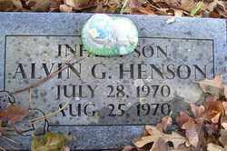 HENSON, ALVIN G - Crawford County, Arkansas   ALVIN G HENSON - Arkansas Gravestone Photos