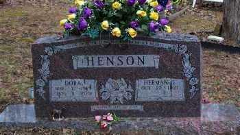 HENSON, DORA - Crawford County, Arkansas   DORA HENSON - Arkansas Gravestone Photos