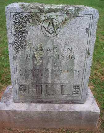 HILL (VETERAN CSA), ISAAC N - Crawford County, Arkansas | ISAAC N HILL (VETERAN CSA) - Arkansas Gravestone Photos
