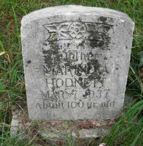 HODNETT, MARINDA - Crawford County, Arkansas | MARINDA HODNETT - Arkansas Gravestone Photos