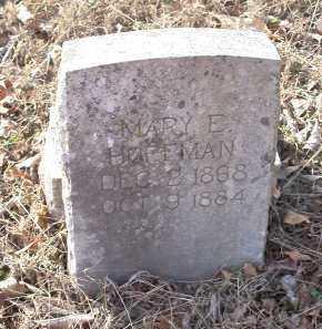 HOFFMAN, MARY E - Crawford County, Arkansas   MARY E HOFFMAN - Arkansas Gravestone Photos