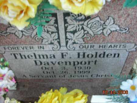 HOLDEN, THELMA F. - Crawford County, Arkansas   THELMA F. HOLDEN - Arkansas Gravestone Photos