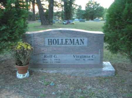 HOLLEMAN, ROLF G. - Crawford County, Arkansas | ROLF G. HOLLEMAN - Arkansas Gravestone Photos