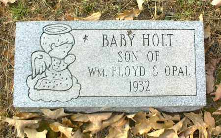 HOLT, INFANT SON - Crawford County, Arkansas   INFANT SON HOLT - Arkansas Gravestone Photos