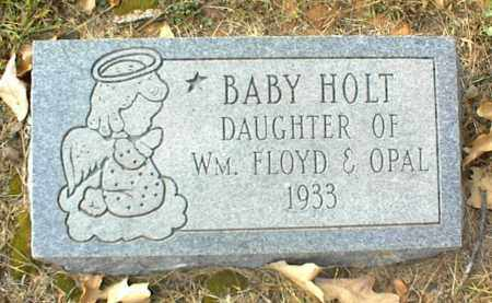 HOLT, INFANT DAUGHTER - Crawford County, Arkansas | INFANT DAUGHTER HOLT - Arkansas Gravestone Photos