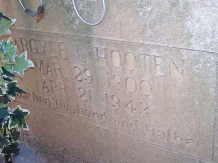 HOOTEN, ARGYLE L. - Crawford County, Arkansas | ARGYLE L. HOOTEN - Arkansas Gravestone Photos