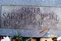EVANS HOWELL, SARAH - Crawford County, Arkansas | SARAH EVANS HOWELL - Arkansas Gravestone Photos