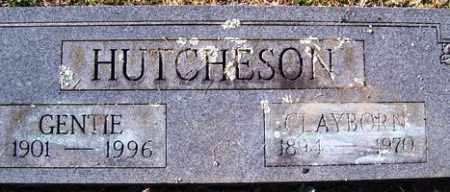 HUTCHESON, CLAYBORN - Crawford County, Arkansas | CLAYBORN HUTCHESON - Arkansas Gravestone Photos