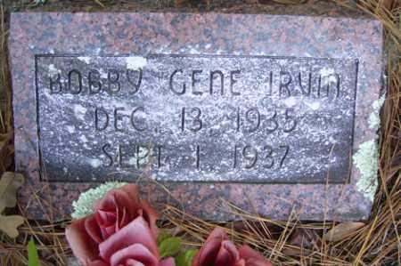 IRVIN, BOBBY GENE - Crawford County, Arkansas   BOBBY GENE IRVIN - Arkansas Gravestone Photos