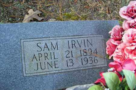 IRVIN, SAM - Crawford County, Arkansas | SAM IRVIN - Arkansas Gravestone Photos