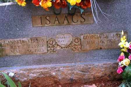 ISAACS, ANDREW VERNON - Crawford County, Arkansas | ANDREW VERNON ISAACS - Arkansas Gravestone Photos