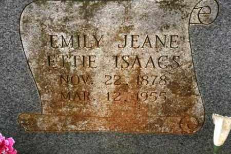 ISAACS, EMILY JEANE - Crawford County, Arkansas | EMILY JEANE ISAACS - Arkansas Gravestone Photos
