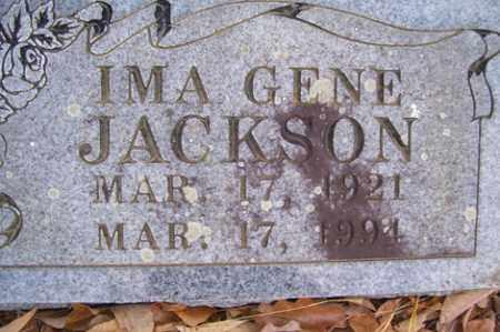 JACKSON, IMA GENE - Crawford County, Arkansas | IMA GENE JACKSON - Arkansas Gravestone Photos