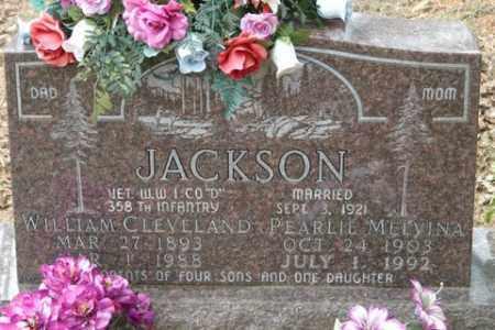 JACKSON (VETERAN WWI), WILLIAM CLEVELAND - Crawford County, Arkansas   WILLIAM CLEVELAND JACKSON (VETERAN WWI) - Arkansas Gravestone Photos