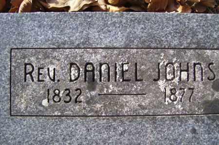JOHNS, DANIEL, REV. - Crawford County, Arkansas   DANIEL, REV. JOHNS - Arkansas Gravestone Photos